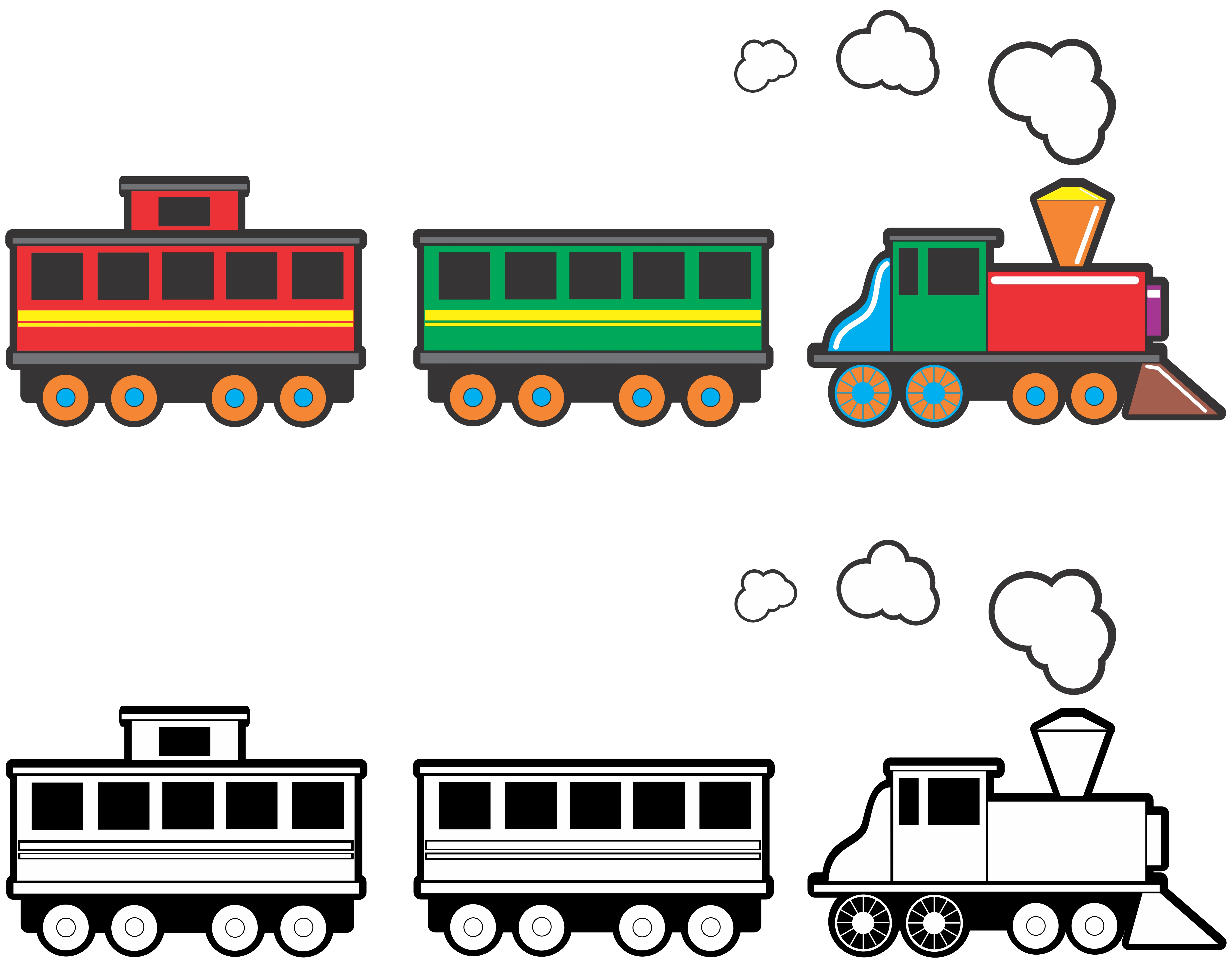 graphic royalty free Free cliparts download clip. Tracks clipart toy train