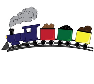 graphic royalty free Tracks clipart toy train. Free cliparts download clip
