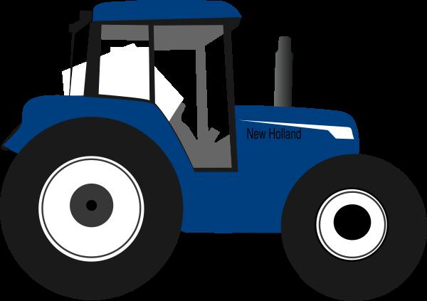 clip art transparent Tractor clipart. Blue free on dumielauxepices