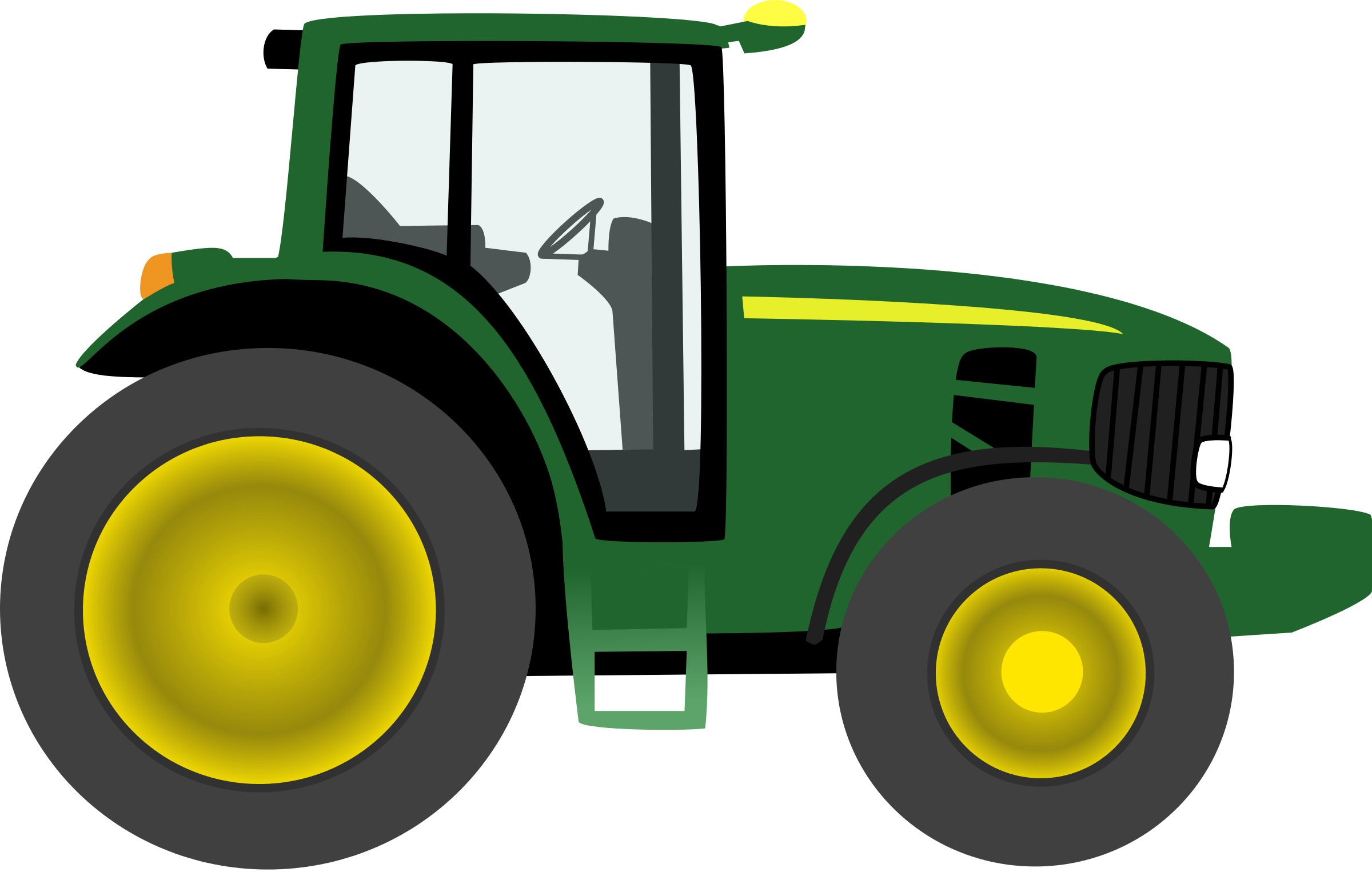 picture transparent library Clipart . Vector tractor john deere