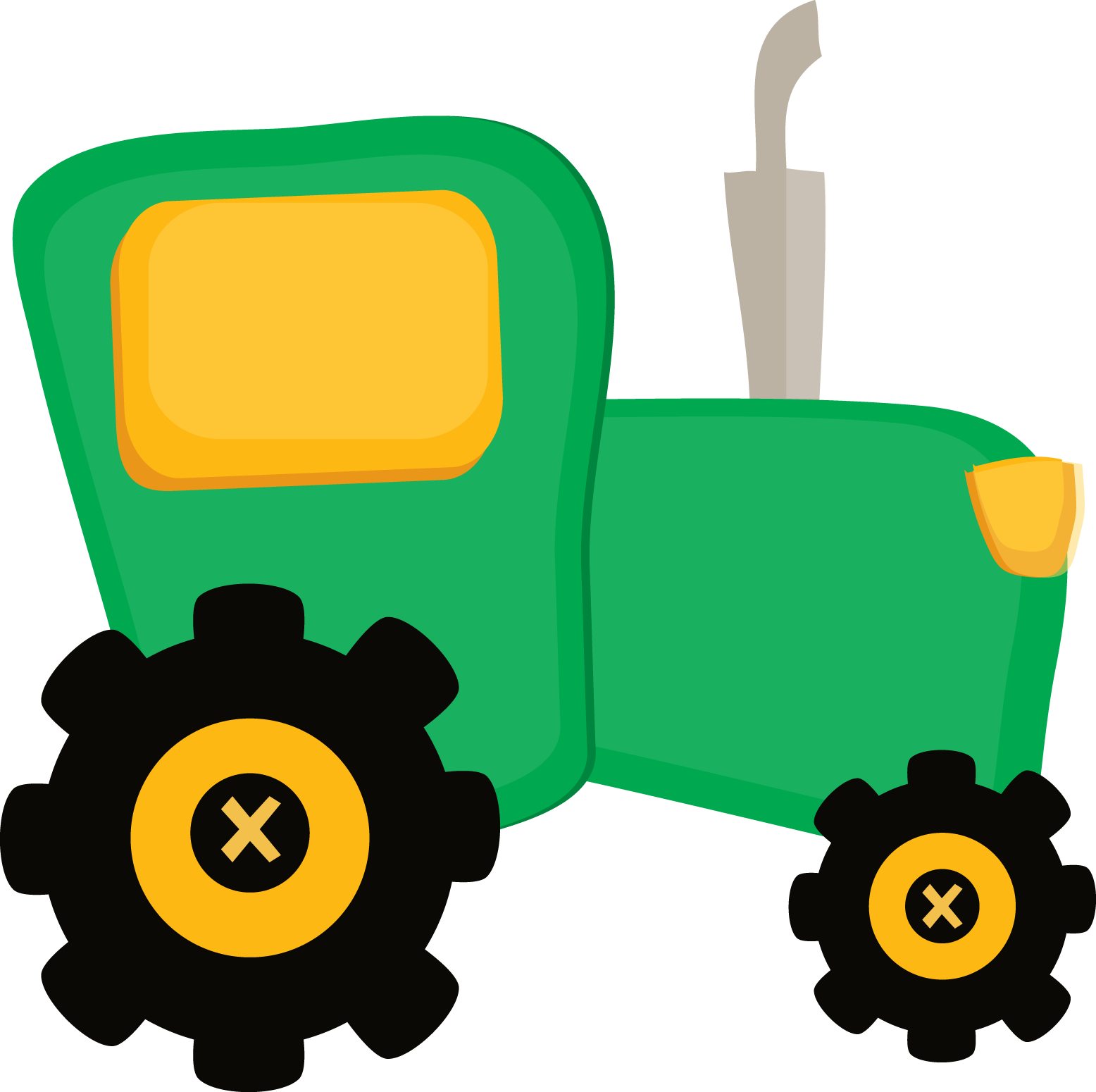 image royalty free download Animal clipart transportation. Fazendinha cute tractor png.