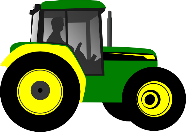 graphic freeuse library Free . Tractor clipart