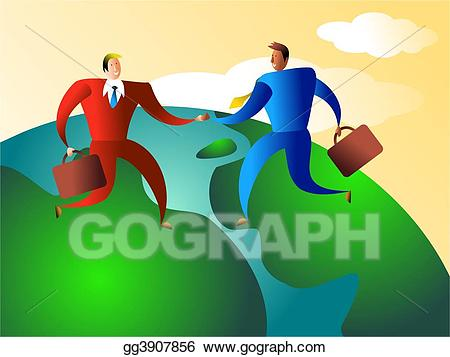 picture freeuse library Stock illustration world illustrations. Trade clipart