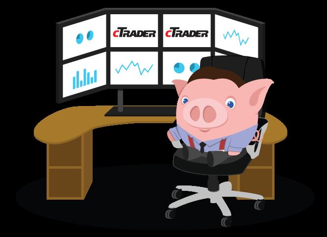 clip art transparent cTrader Trading Platform at the Best cTrader Broker