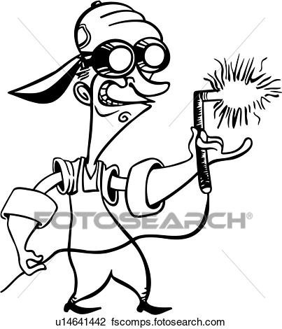 graphic freeuse stock Welder free download best. Trade clipart mig welding