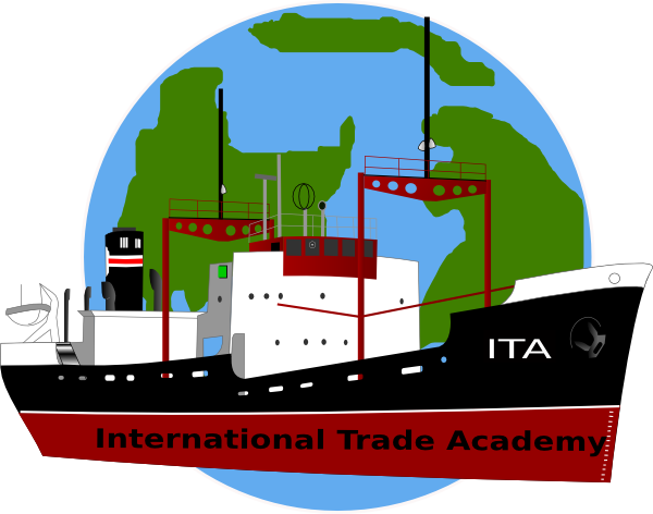 graphic library International boat and earth. Trade clipart