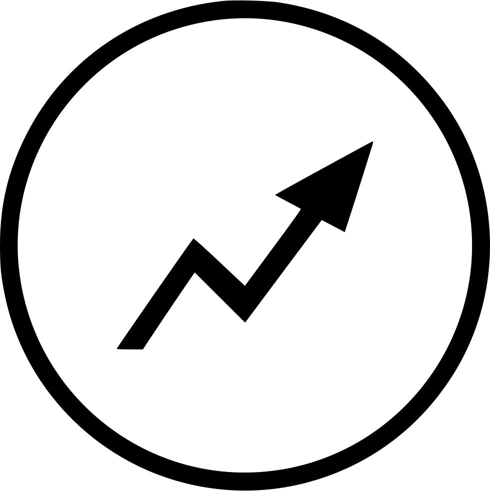 jpg royalty free download Grow arrow maximum report. Trademark vector.