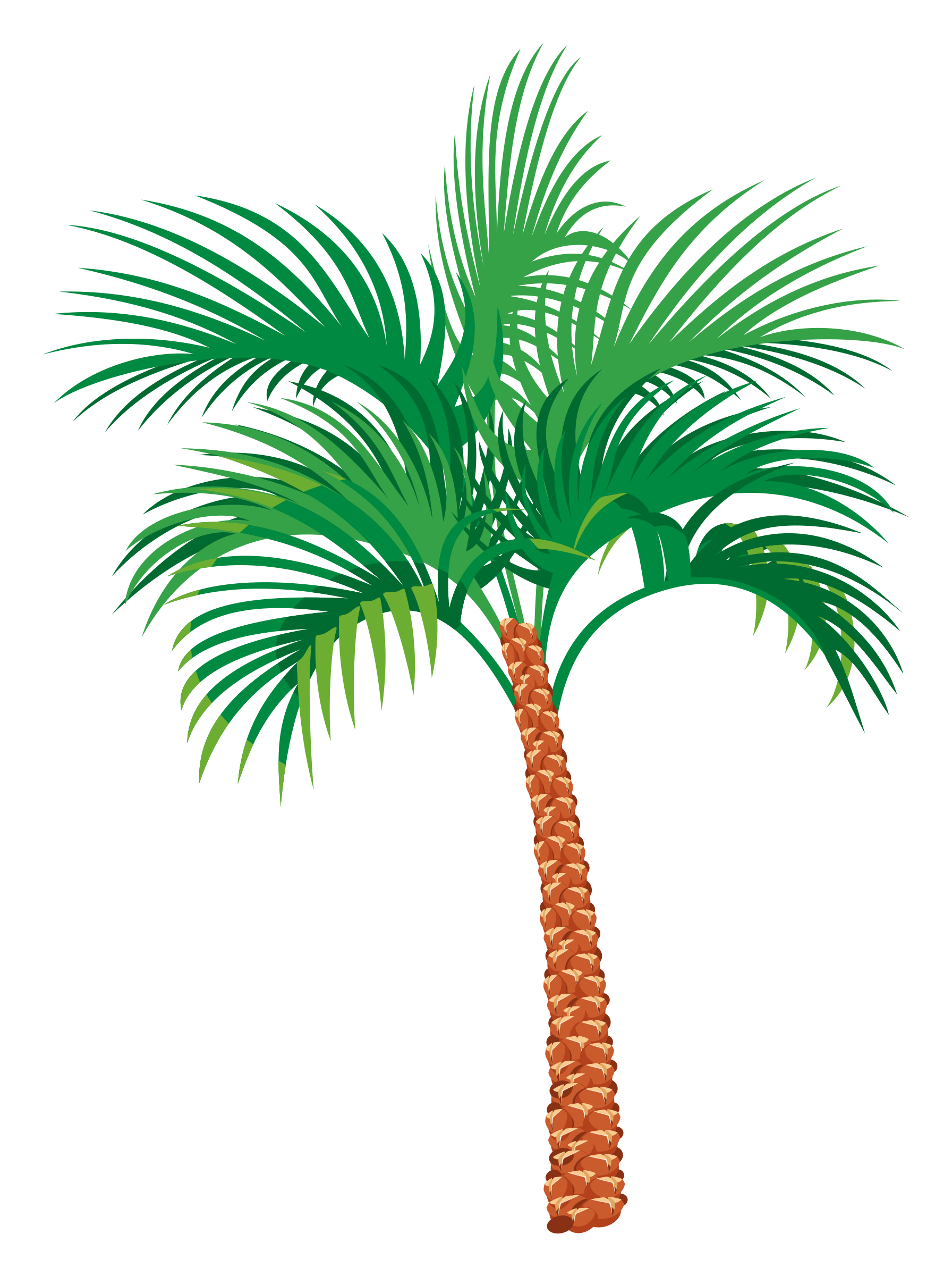 picture royalty free download Palm tree by floedelmann. Palms vector.