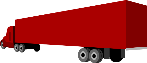 clipart freeuse Truck and clip art. Trailer clipart