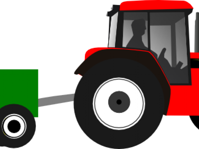 vector royalty free Tractor cliparts free download. Trailer clipart