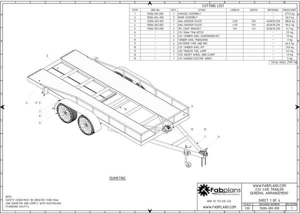banner black and white stock Trailer drawing car.  kg plans build