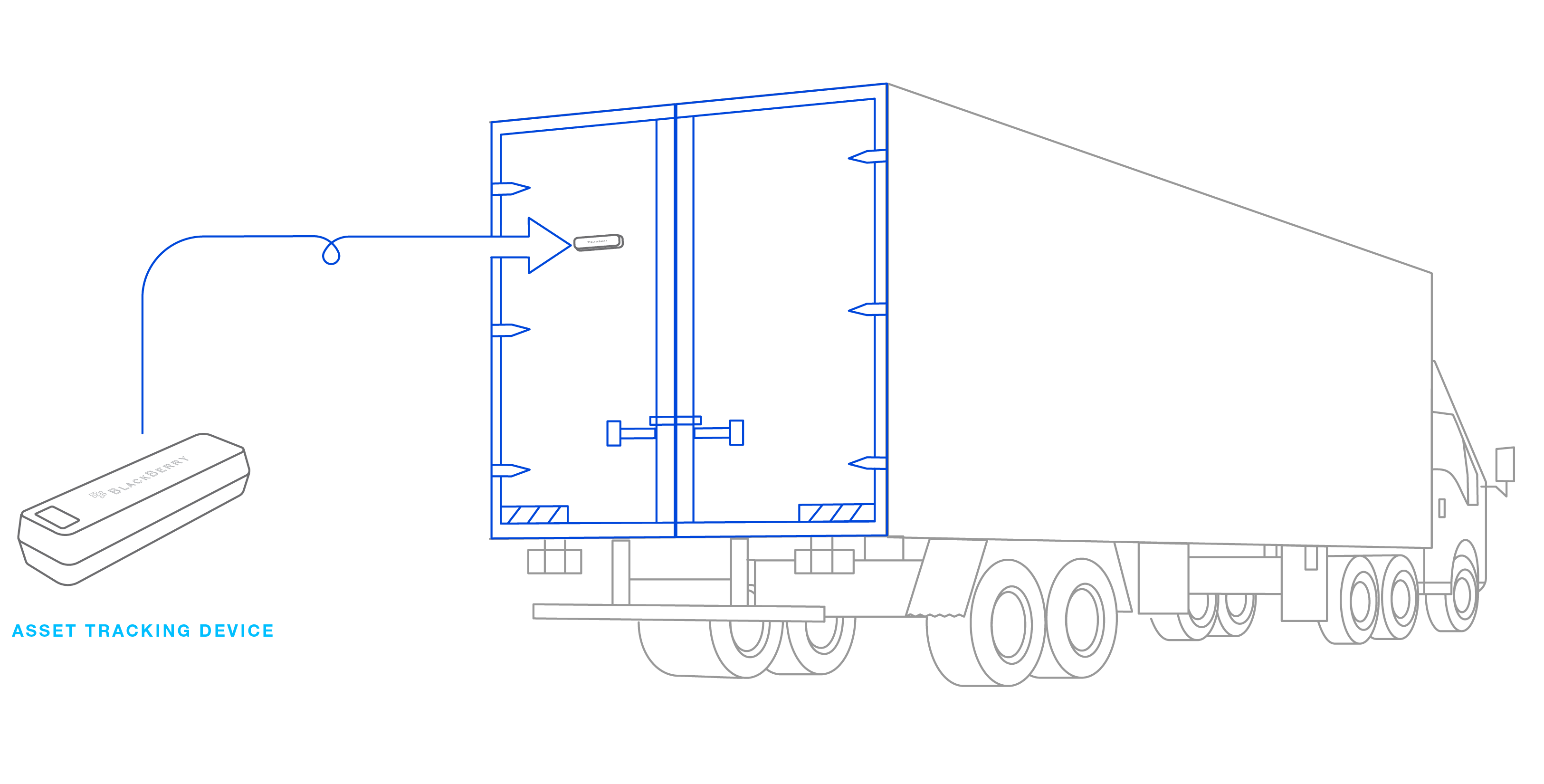 jpg black and white stock trailer drawing container #105039088