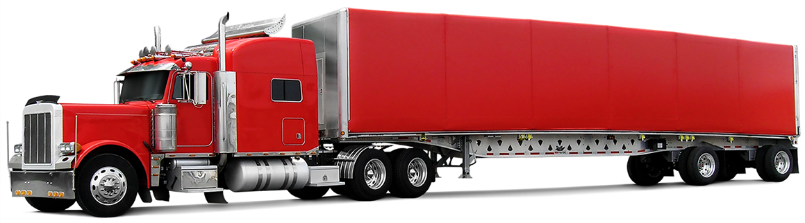 graphic freeuse library Home quick draw tarpaulin. Trucks drawing trailer truck.