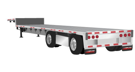 clipart stock Flatbed Trailer Dimensions