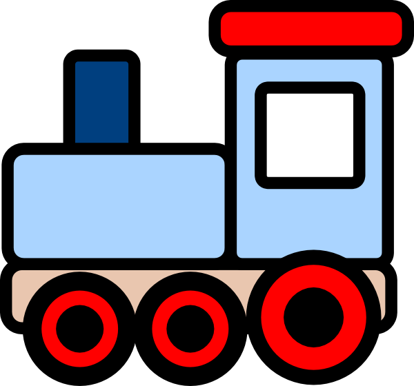 picture royalty free download Train clipart. Free clip art bay.