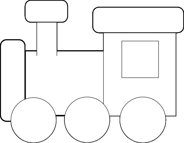clipart black and white Engine clipart black and white. Train clip art panda