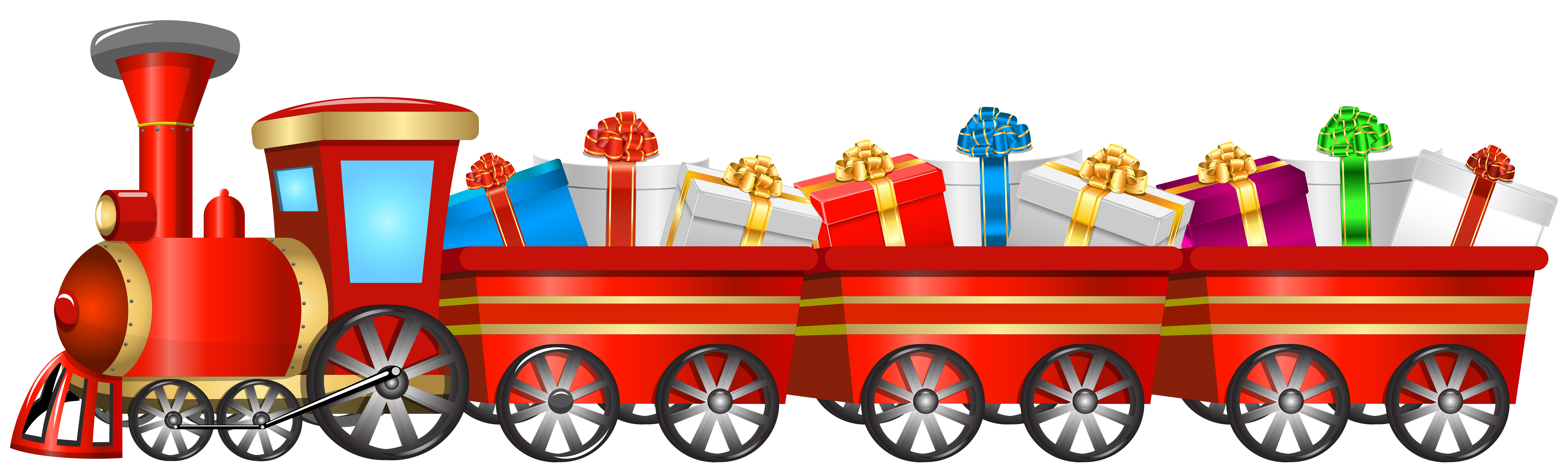 image download Free christmas cliparts download. Train clipart for kids