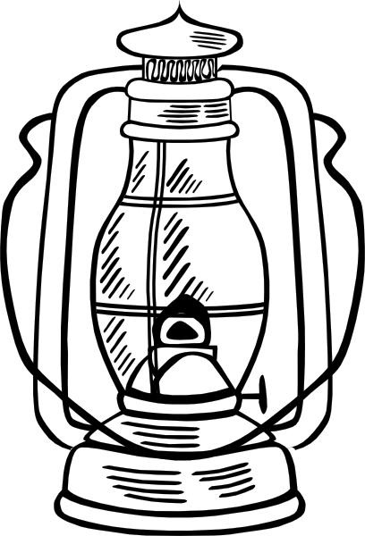 graphic free library Hurricane Lamp Clip Art at Clker