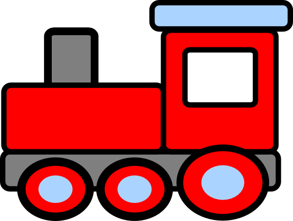 png royalty free library Choo train free images. Caboose clipart little red caboose.
