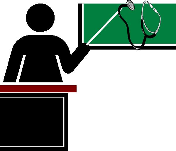 jpg stock School clip art at. Nurse teaching patient clipart