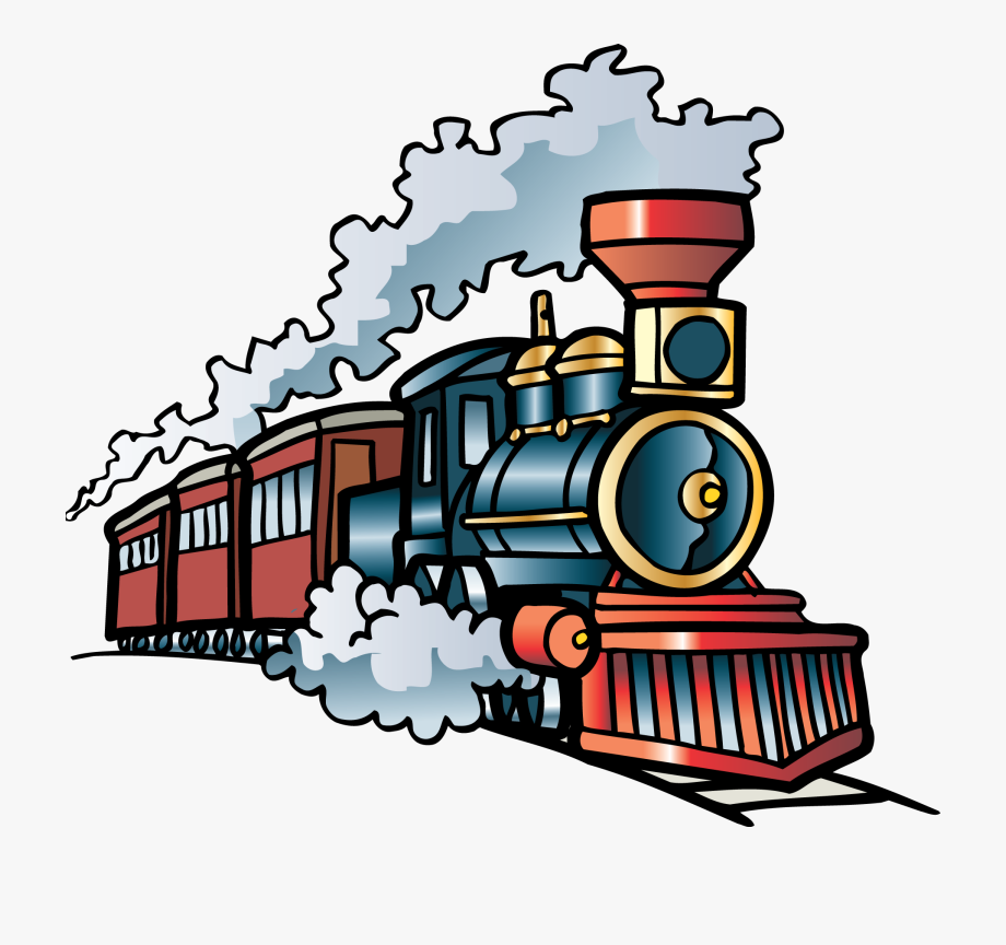 banner free Train clipart. Steam transparent cartoon .