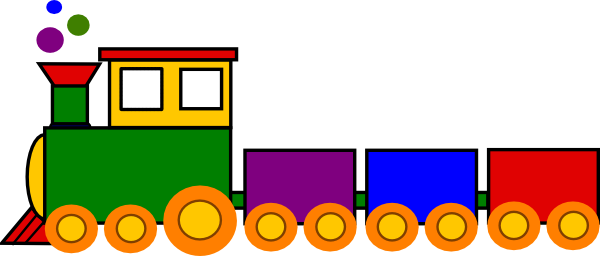 royalty free Toy Train Clip Art