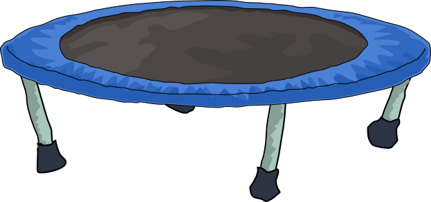 svg free library Free download of icon. Trampoline clipart.