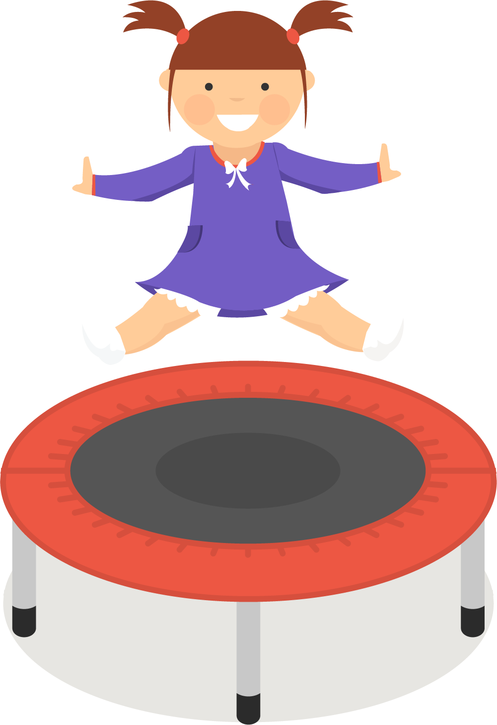 graphic royalty free library Trampoline clipart. Jumping aerogym clip art.