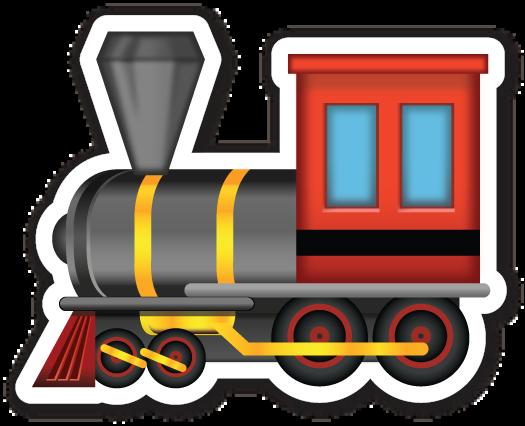 banner black and white Steam locomotive pinterest emoji. Transcontinental railroad clipart