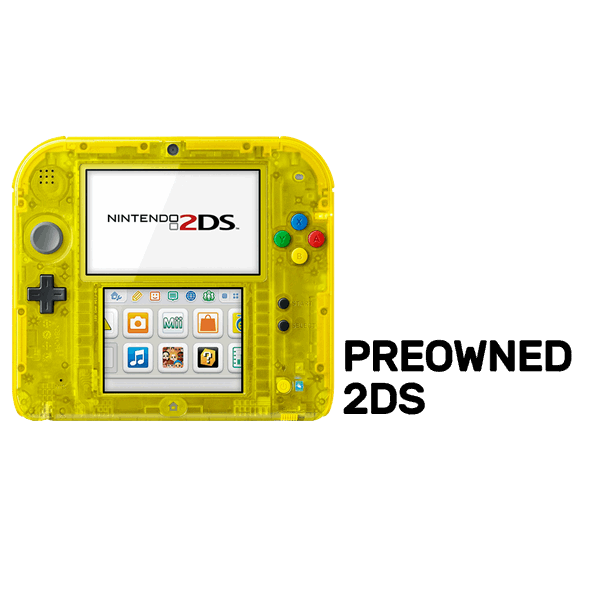 vector royalty free Transparent 2ds. Nintendo ds yellow limited