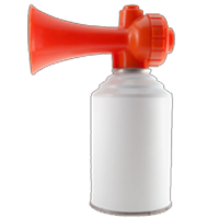 freeuse library Collection of free b. Transparent airhorn