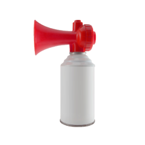 clipart free stock Air horn apprecs icon. Transparent airhorn