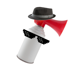 clip black and white download Transparent airhorn. Eddy on twitter fav