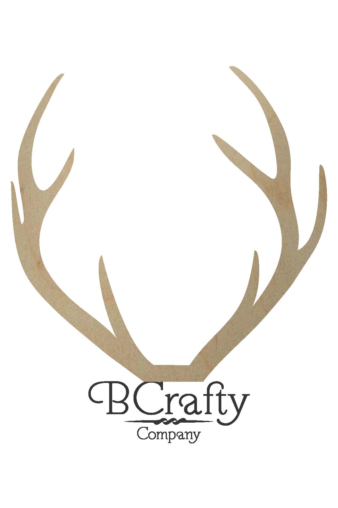 svg free download Wooden Deer Antler Shape