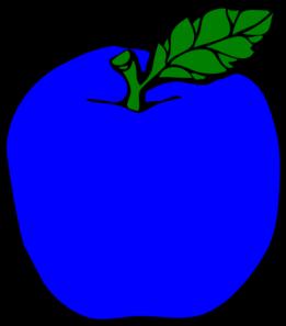 png transparent Dark Blue Apple Clip Art at Clker