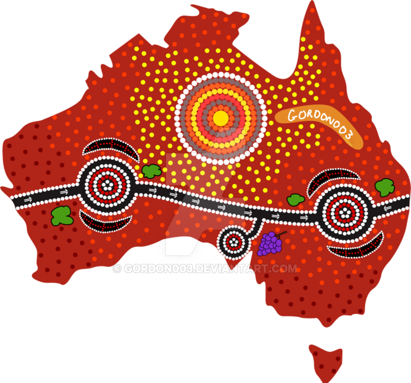 clip art black and white download My Aboriginal Artwork