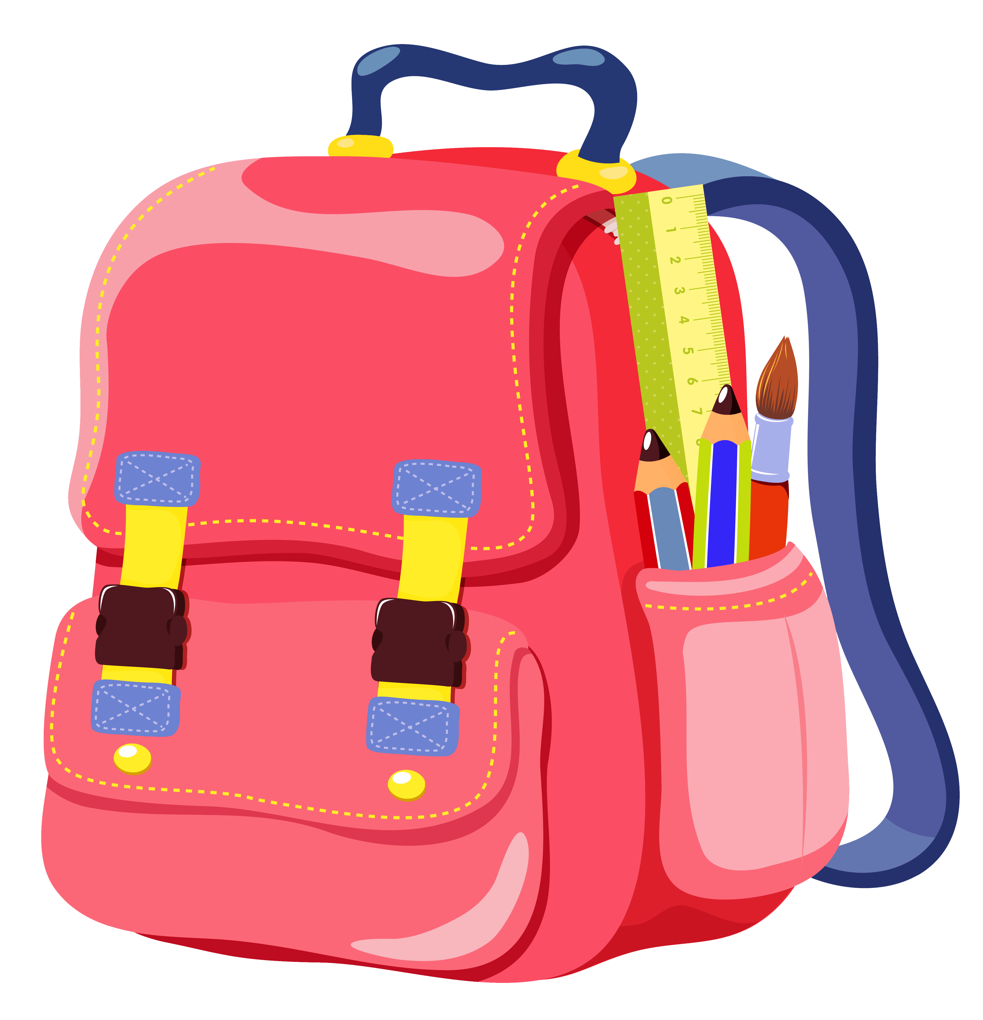 clip royalty free library School bag mail milton. Luggage clipart baggage claim.