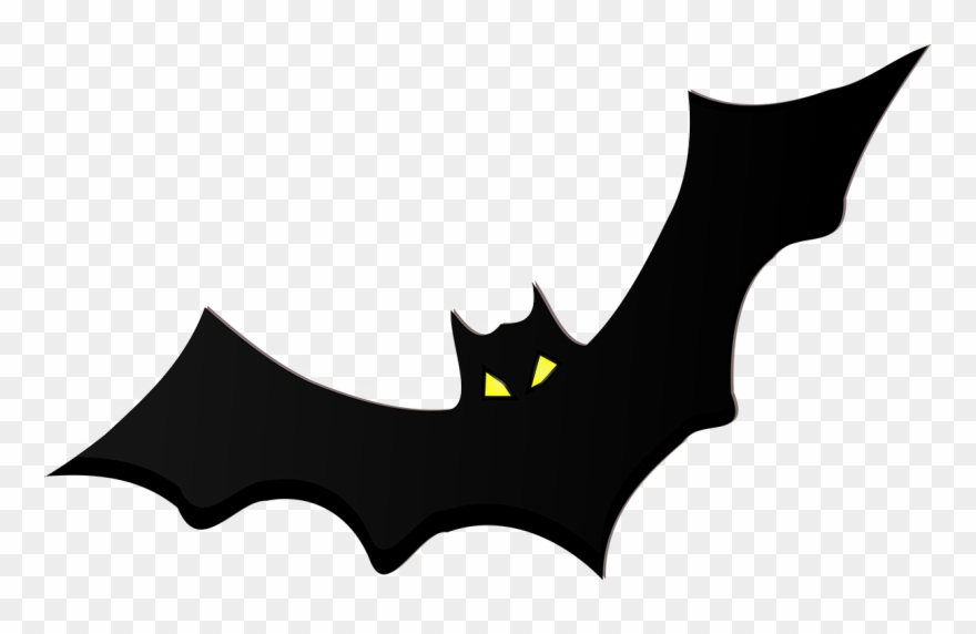 graphic black and white library Cliparts free download on. Transparent bat clip art black white