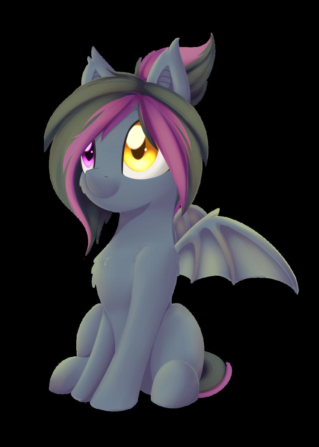 clip art download  artist dusthiel pony. Transparent bat sitting