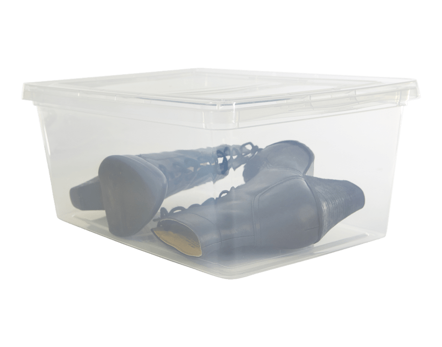 picture library download Clear sweater box storage. Transparent bathtub small plastic.