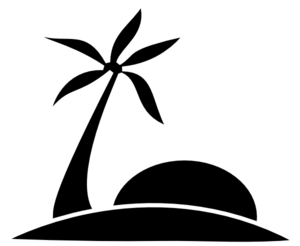 svg free stock The png palm tree. Beach transparent black and white