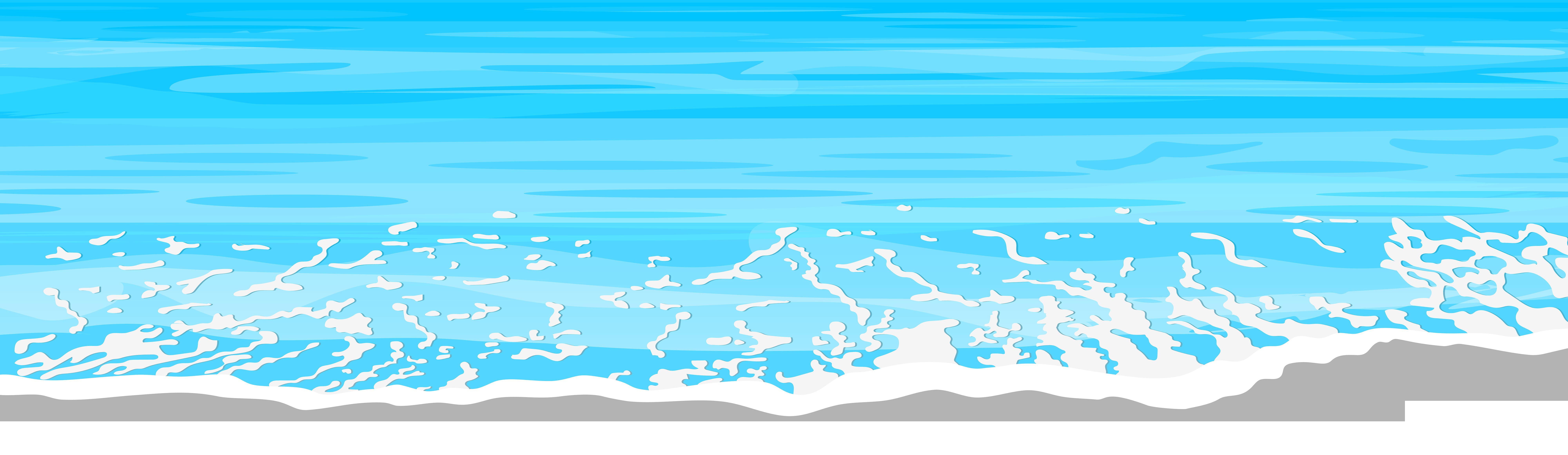 jpg transparent library Sea ground png clip. Beach transparent ocean