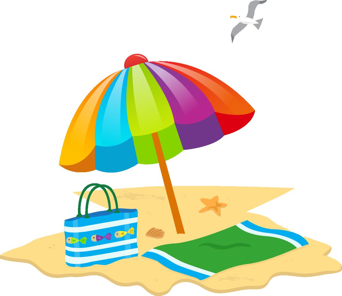 svg royalty free stock Sunny Beach Summer Beach Day