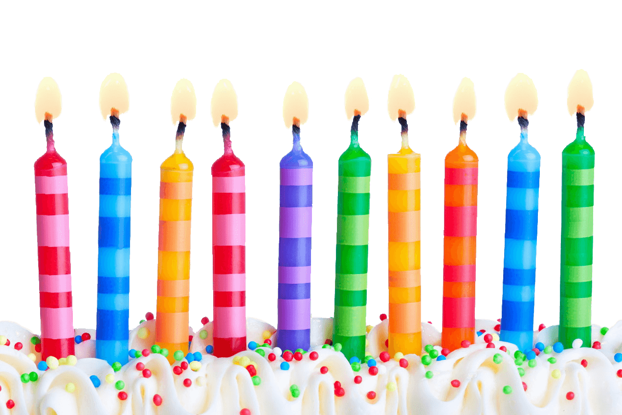 svg library Transparent candle clear background. Birthday candles line png
