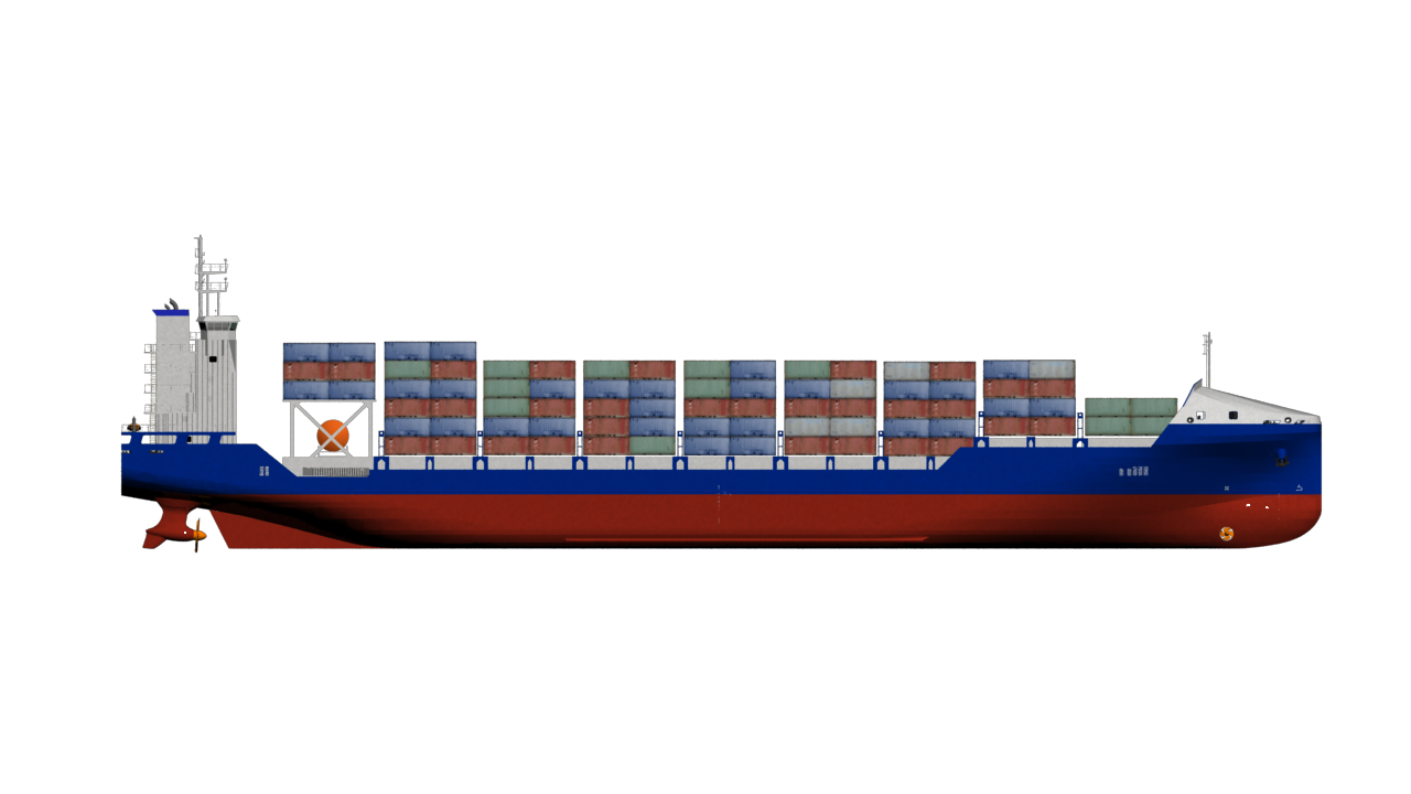 svg transparent stock Vector container cargo.  ship png for