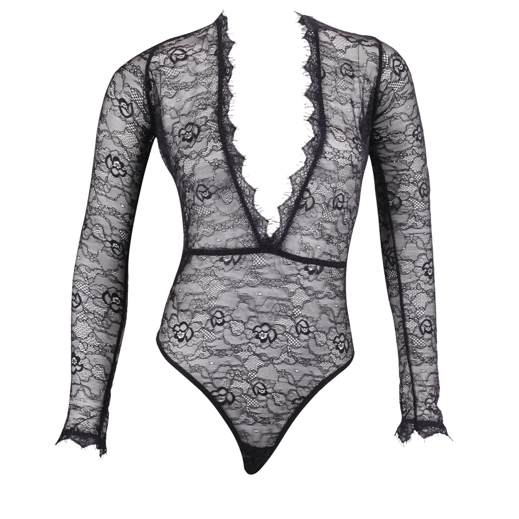 banner royalty free All over lace bodysuit