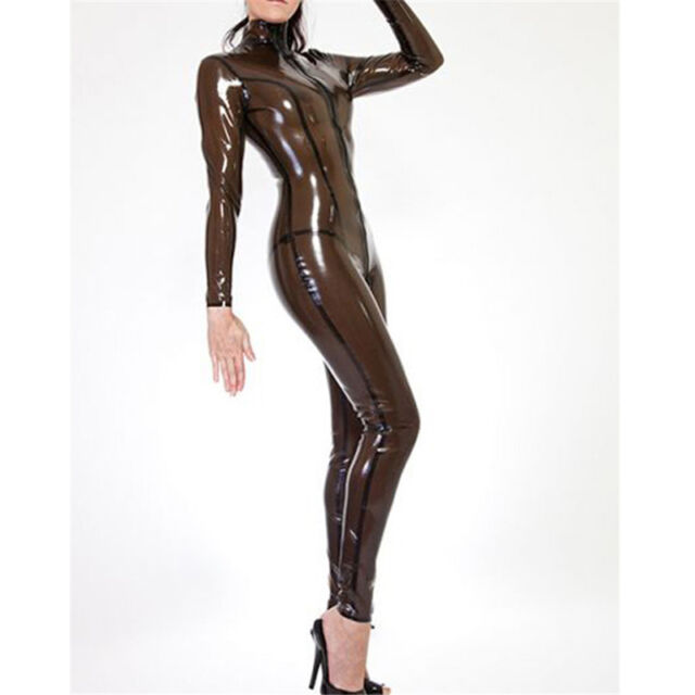 svg transparent library Transparent Black Latex Tights Catsuit Rubber Skintight Bodysuit Sexy  Costume