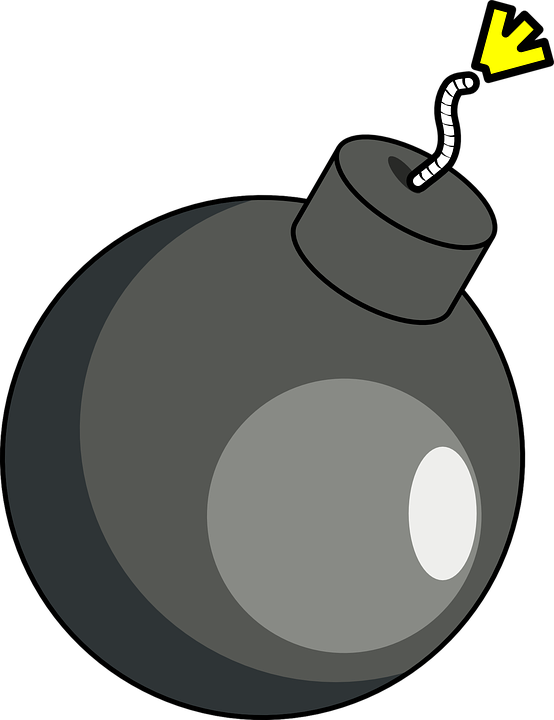 clip art royalty free download Transparent bomb carton. Collection of free grenade