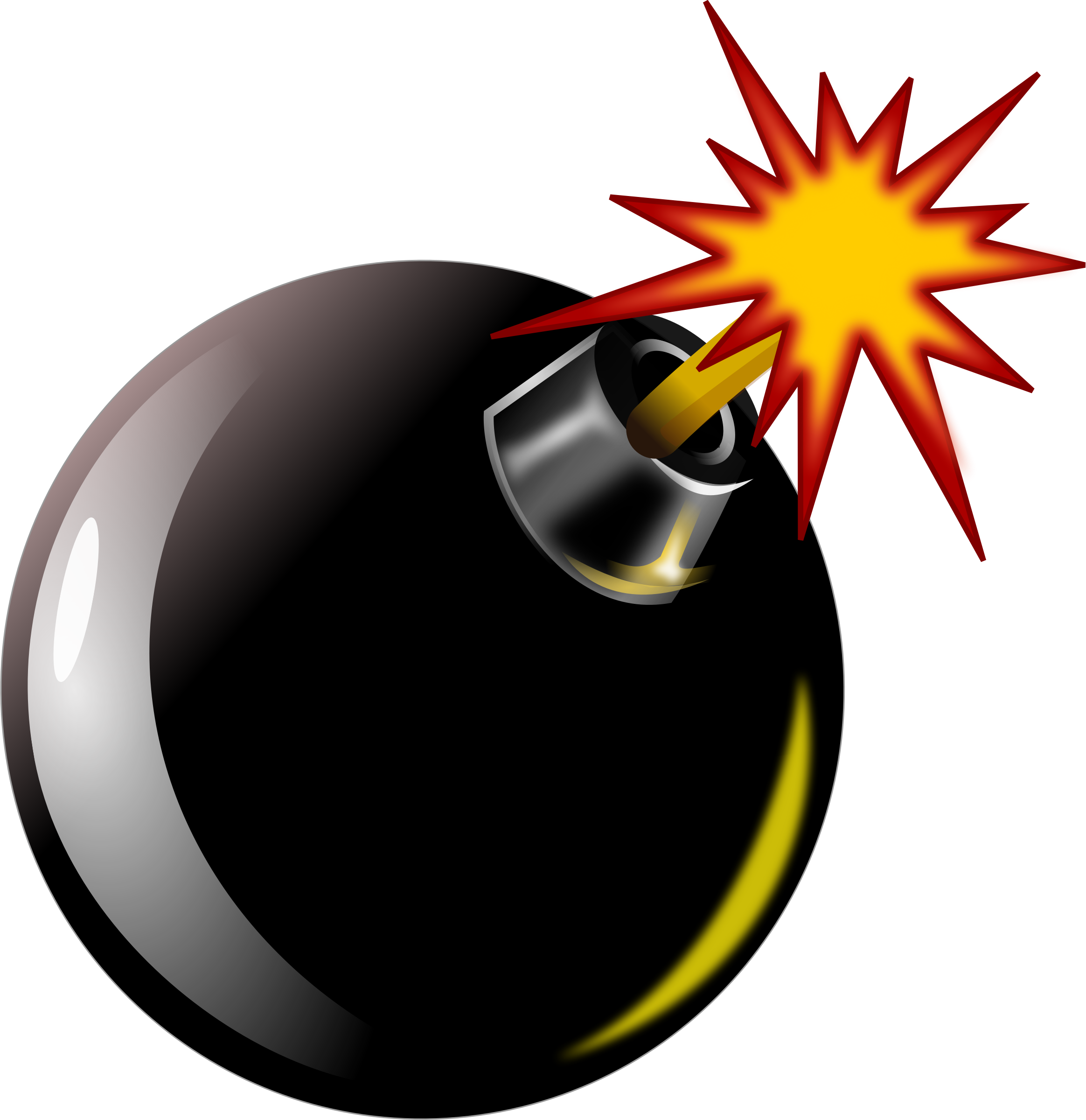 graphic library stock Bomb clipart fuse