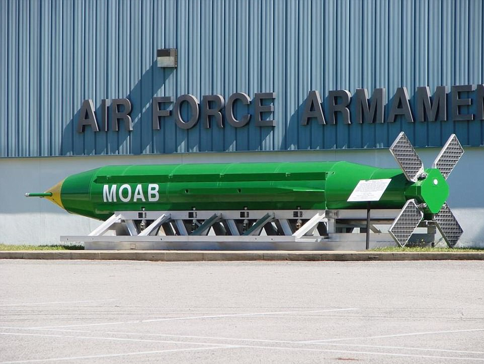 image Transparent bomb moab. U s drops mother